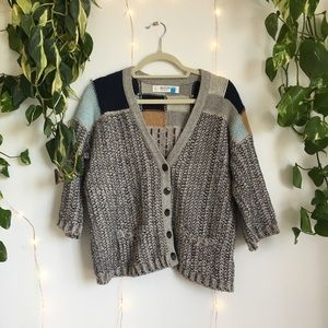 ✨ Anthropologie Sparrow Mixed Media Cardigan ✨